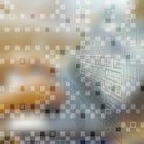 Fondo di concetto di affari di tecnologia Fotografia Stock
