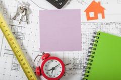 Fondo di concetto di Real Estate Immagine Stock Libera da Diritti