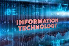 Fondo di concetto di tecnologia dell'informazione illustrazione vettoriale