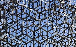 Fondo di costruzione saldata metallo Fotografie Stock Libere da Diritti