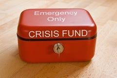 Fondo di crisi Fotografie Stock Libere da Diritti
