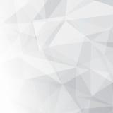 Fondo di cristallo poligonale di semitono geometrico contemporaneo royalty illustrazione gratis