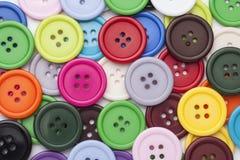 Fondo di cucito dei bottoni Immagine Stock