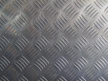 Fondo di di piastra metallica Fotografia Stock