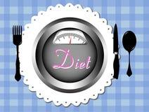 Fondo di dieta Fotografia Stock Libera da Diritti
