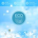 Fondo di ecologia Fotografia Stock