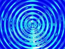 Fondo di effetto dell'acqua, risonanza variopinta dell'acqua Immagine Stock