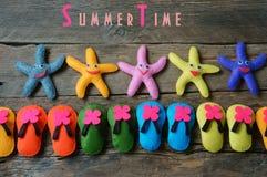 Fondo di estate, estate Fotografia Stock
