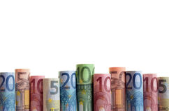 Fondo di euro soldi Immagine Stock