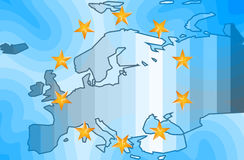 Fondo di Europa Immagini Stock