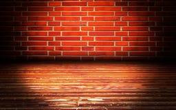 Fondo di fase interno urbano dei mura di mattoni illustrazione di stock