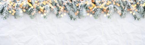 Fondo di festa del nuovo anno e di Natale Cartolina d'auguri di natale Vacanze invernali fotografia stock