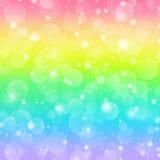 Fondo di festa del Rainbow royalty illustrazione gratis