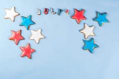 Fondo di festa dell'indipendenza di U.S.A. Immagine Stock