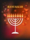 Fondo di festa di Chanukah Fotografia Stock
