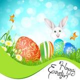 Fondo di festa di Pasqua Fotografie Stock Libere da Diritti