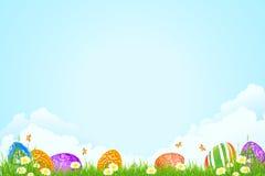 Fondo di festa di Pasqua Immagine Stock Libera da Diritti