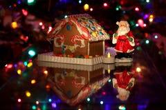Fondo di festa di stagione di Natale Fotografie Stock