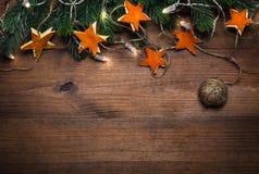 Fondo di feste con le decorazioni fatte a mano Immagine Stock Libera da Diritti