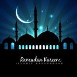 Fondo di festival di Eid illustrazione di stock