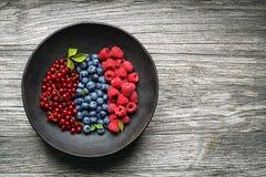 Fondo di frutti di bacche Fotografia Stock