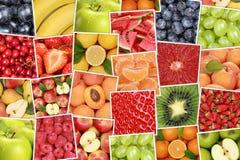 Fondo di frutti del vegetariano e del vegano con le mele, arance, streptococco immagine stock libera da diritti