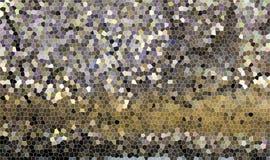 Fondo di giallo leggero Gray Black del vetro macchiato Fotografie Stock Libere da Diritti
