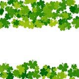Fondo di giorno della st Patricks nei colori verdi Fotografie Stock Libere da Diritti