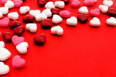Fondo di giorno di biglietti di S. Valentino Fotografie Stock