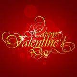 Fondo di giorno di biglietti di S. Valentino. Fotografie Stock Libere da Diritti