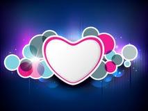 Fondo di giorno di biglietti di S. Valentino. Fotografia Stock Libera da Diritti