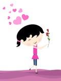 Fondo di giorno di biglietti di S. Valentino. Immagini Stock Libere da Diritti