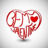 Fondo di giorno di biglietti di S. Valentino. Immagine Stock