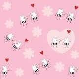 Fondo di giorno di biglietti di S. Valentino Immagini Stock Libere da Diritti