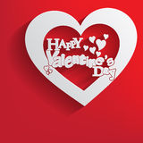 Fondo di giorno di biglietti di S. Valentino, Immagini Stock Libere da Diritti