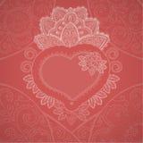 Fondo di giorno di biglietti di S. Valentino. Royalty Illustrazione gratis