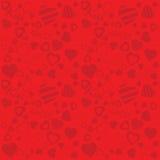Fondo di giorno di biglietti di S. Valentino () Immagine Stock