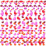 Fondo di giorno di biglietti di S. Valentino bello con gli ornamenti ed il cuore. Fotografia Stock Libera da Diritti