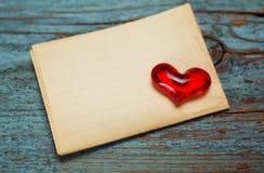 Fondo di giorno di biglietti di S. Valentino con i cuori. Fotografia Stock