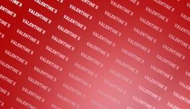 Fondo di giorno di biglietti di S. Valentino, illustrazione Fotografia Stock Libera da Diritti