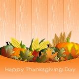Fondo di giorno di ringraziamento Fotografia Stock