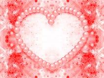 Fondo di giorno di S. Valentino Fotografia Stock