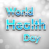 Giorno di salute di mondo, Fotografie Stock Libere da Diritti