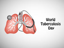 Fondo di giorno di tubercolosi royalty illustrazione gratis
