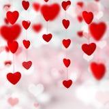Fondo di giorno di Valentin Fotografia Stock