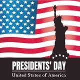 Fondo di giorno di presidenti Fotografia Stock Libera da Diritti