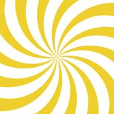 Fondo di giro rapido di luce solare Fondo giallo e bianco di segnale di riferimento Illustrazione di vettore illustrazione di stock