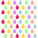 Fondo di goccia di colore Fotografia Stock