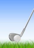 Fondo di golf Fotografie Stock