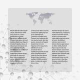 Fondo di Gray Abstract della struttura della molecola, Fotografia Stock Libera da Diritti